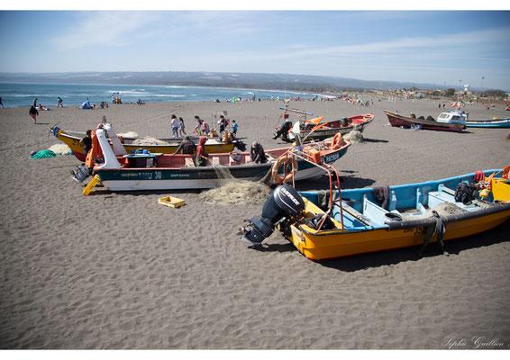 Chili Pichilemu bateaux