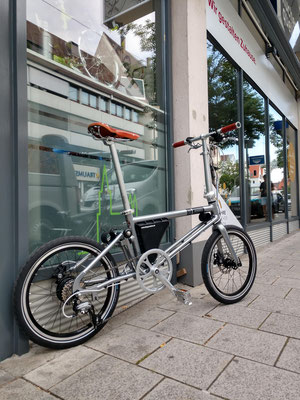 Folding Bike – Power+ / KlappRad Ulm / AHOOGA E-Bike / 2019 / Neuheit / 36Volt System / 15Kg Falt-Ebike