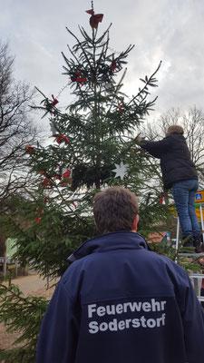 Weihnachtsbaumstellen 2018