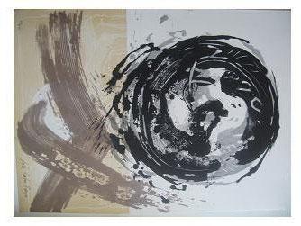 13.- Océana,  Litografía, mancha 47 x 34,5 cm., soporte 47 x 34,5 cm.