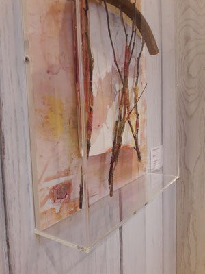 Waldlust, Artbox, 40x50 cm, 2019, 750 Euro