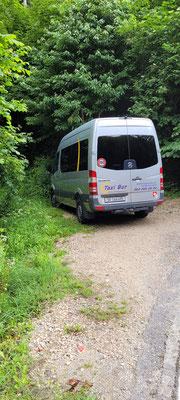 Unser neuer Bus von Taxi Bur gemietet. Ein voller Erfolg