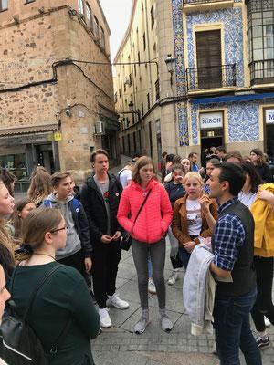Geschichtliches über Cáceres erfahren- Stadtführung mit Herrn Tiedtke