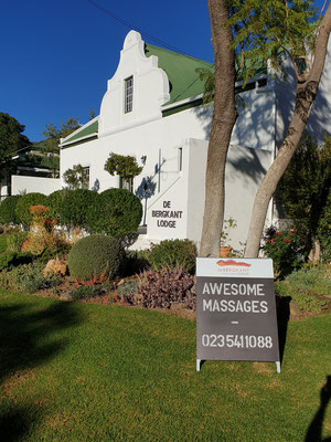 Manor House from 1858 - National Monument - with SPA Advertisement (Awesome Massages)