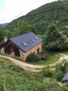 gite d'étape d'Aunac, Ariège, Pyrénées