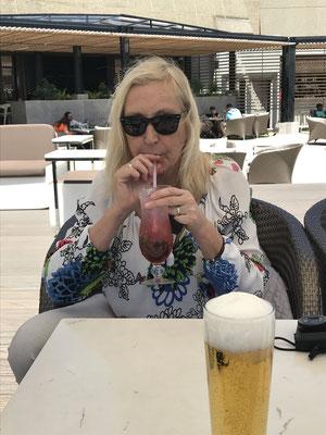 Schnell noch einen cocktail .......