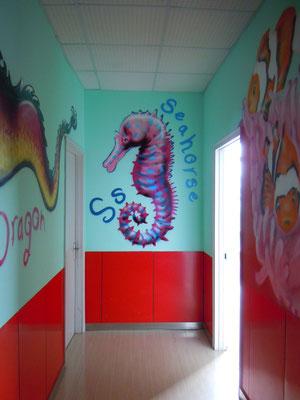 Seahorse at DD Dragon School, CHINA, 2013