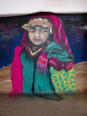 Egyptian Girl, Soho, London, 2015