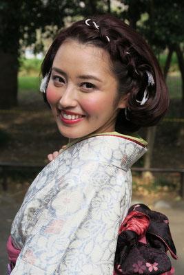 銀座和装ヘアセット&メイク(お化粧)