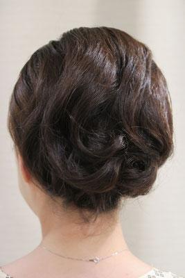 ふんわりヘアセット
