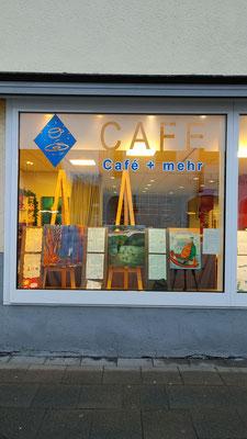 Hier gibt es ein Kunstprojekt einiger Porzer Künstler zu sehen: in Köln-Stammheim im Café Lichtblicke!