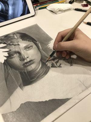bleistift zeichnung portrait pencildrawing