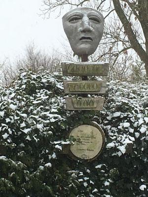 Hermannus im Schnee