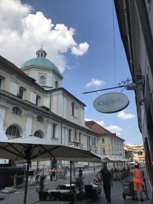 Ljubljana Tipps St. Nikolaus Kathedrale