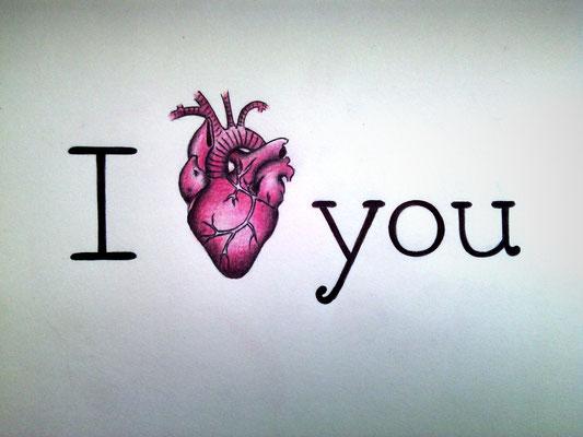 I (love) You (24x32 cm) 2015