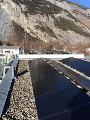 PV Aufdachanlage, Domat/Ems 30 KWp