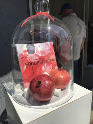 FOODREPORT 2020 - Artist: Christine Straszewski, Eat Art installation, Kurator: Leander Rubrecht, by Zukunftsinstitut