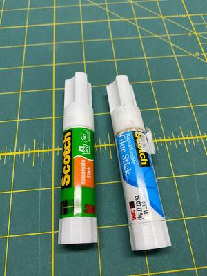 colle repositionnable papier-tissu