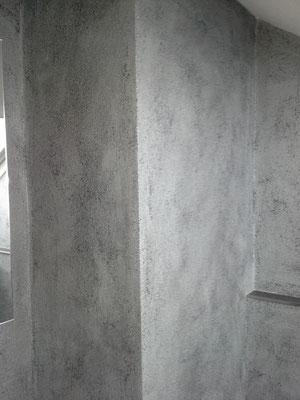 Lasurtechnik Silber- Grau