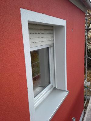 Fensterrahmen ohne Schatten/ Ritzer