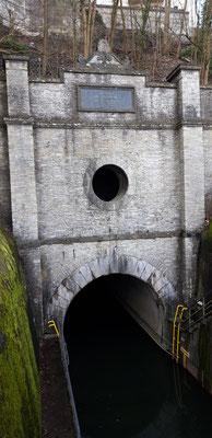 einziger Schiffahrtstunnel Deutschlands, erbaut in den Jahren 1844-1847