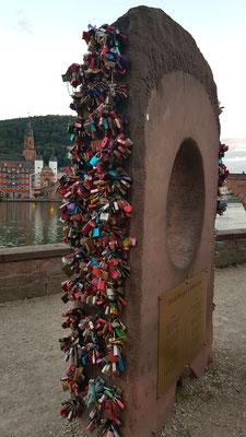 Liebesstein Heidelberg, Deutschland