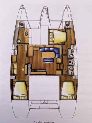 "This is a ""floorplan"" of Indigo Moon ... plenty of space ... inside ..."