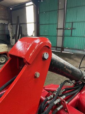 SUMO ram mount repair and reinforcement