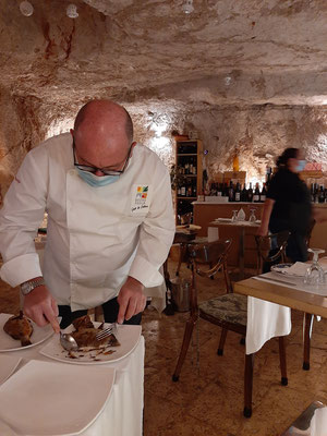 Chef at Caffe Cavour