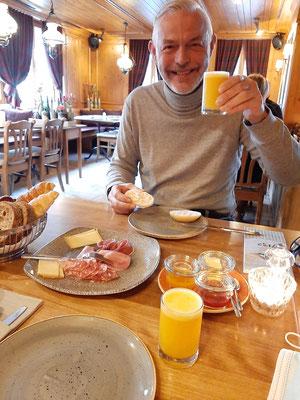 Breakfast area at Glenner 1732 Vals