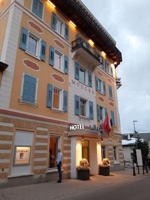 Hotel Müller Mountain Lodge Pontresina Engadin Switzerland