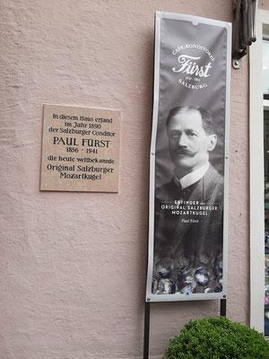 Fürst- best Mozart Kugeln in Salzburg