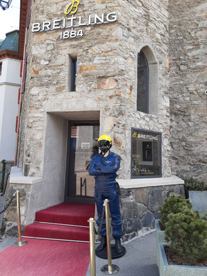 Breitling Store at the Badrutts Palace