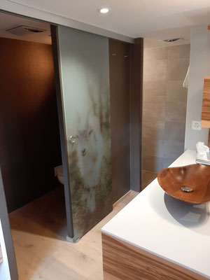 Bathroom at Frohe Aussicht Schwende