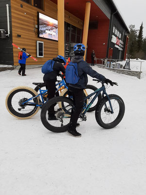 Winter Mountain Bikes