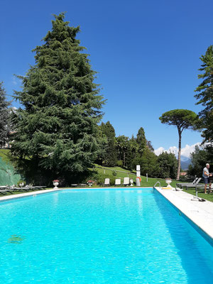 Pool at Castello di Casiglio