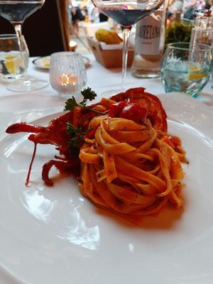 Pasta at La Marachella