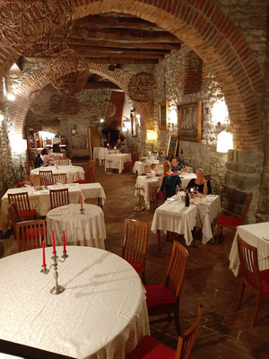 Restaurant at Castello di Casiglio
