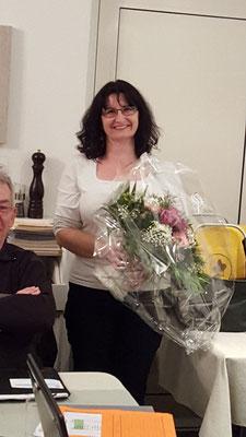 Geehrt für 10 Jahre Vorstand: Karin Ammann