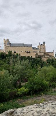 アルカサル。シンデレラ城?白雪姫城?のモデルだそうです