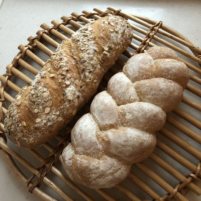 国産粉のセミハードパン
