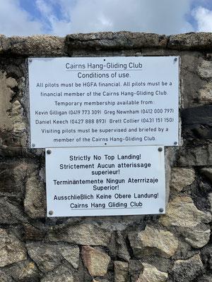 ... Cairns Hang-Gliding Club ...