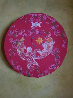 """soin au tambour """"fréquence du coeur"""""""