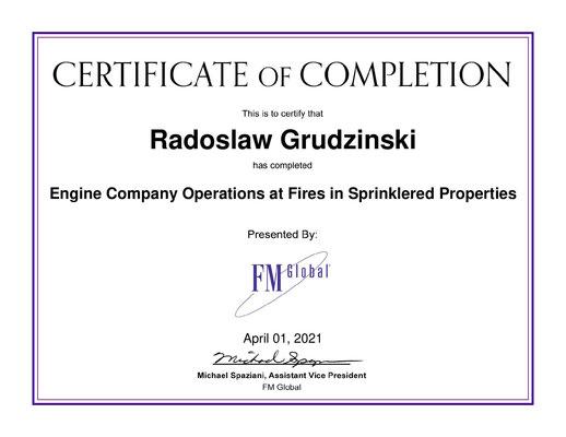 certyfikat kompetencji instalacje tryskczowe