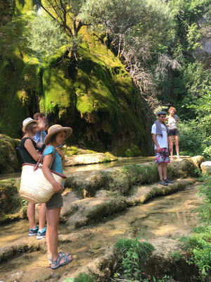 La cascade verte