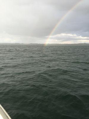 Keep reachin that rainbow. Regenbogen über der Griesen Gegend