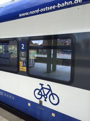 Bild: Der Zug von Hamburg nach Sylt