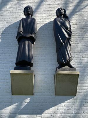 Skulpturen am Ernst Barlach Haus