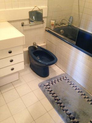 La salle de bain est devenue une salle d'eau