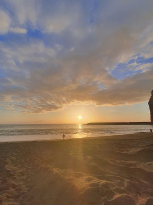 Sonnenuntergang Playa de Tazacorte